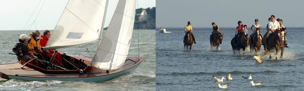 La Baule, les Activités nautiques, Golf...