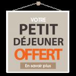 Votre Petit déjeuner Offert à l'Hotel de la Cité à Guerande