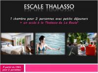 Escale Thalasso à partir de  136€